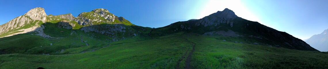 4-Gipfelwanderung hoch über Pettneu(25.07.2018)