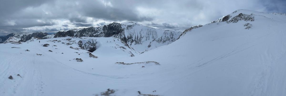 Skitour auf den Hochschwab (zumindestfast)